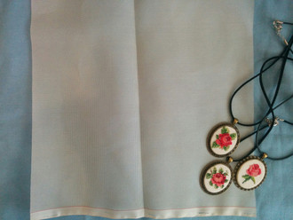 Микровышивка, шелковая кисея, как вышивать на шелке