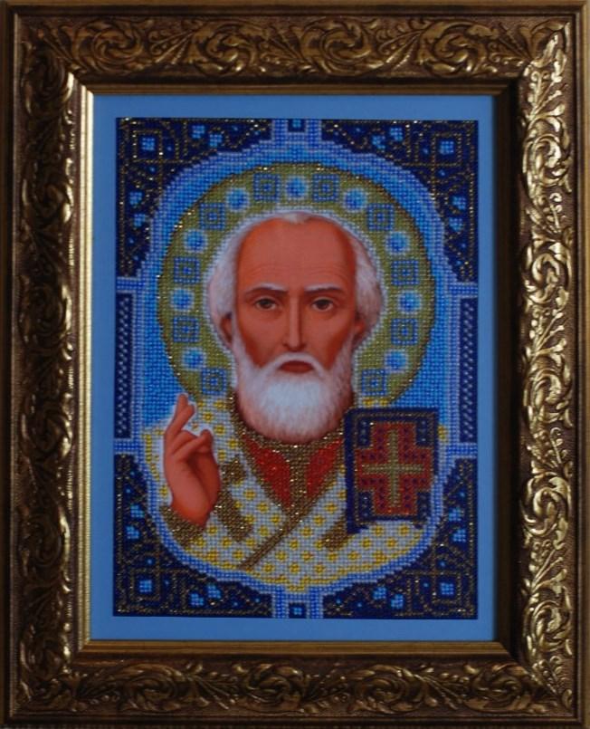 Святой Николай, бисер