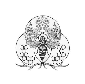 TRANSPARENT(no Text) The Honeybee Temple