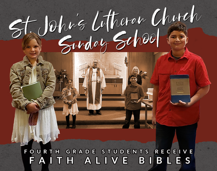 First Day of Sunday School 2020