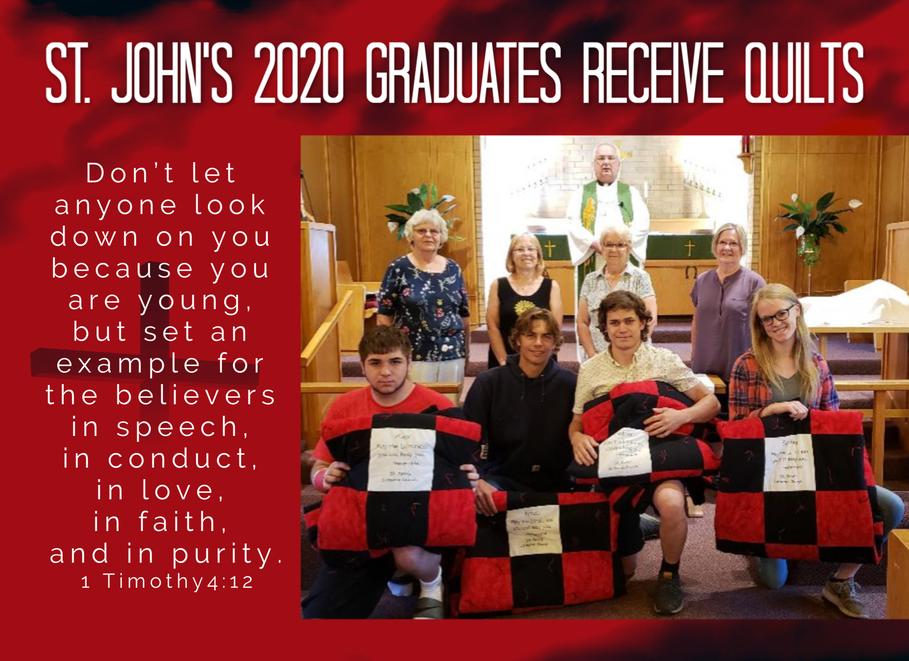 2020 Grads Receive Quilts