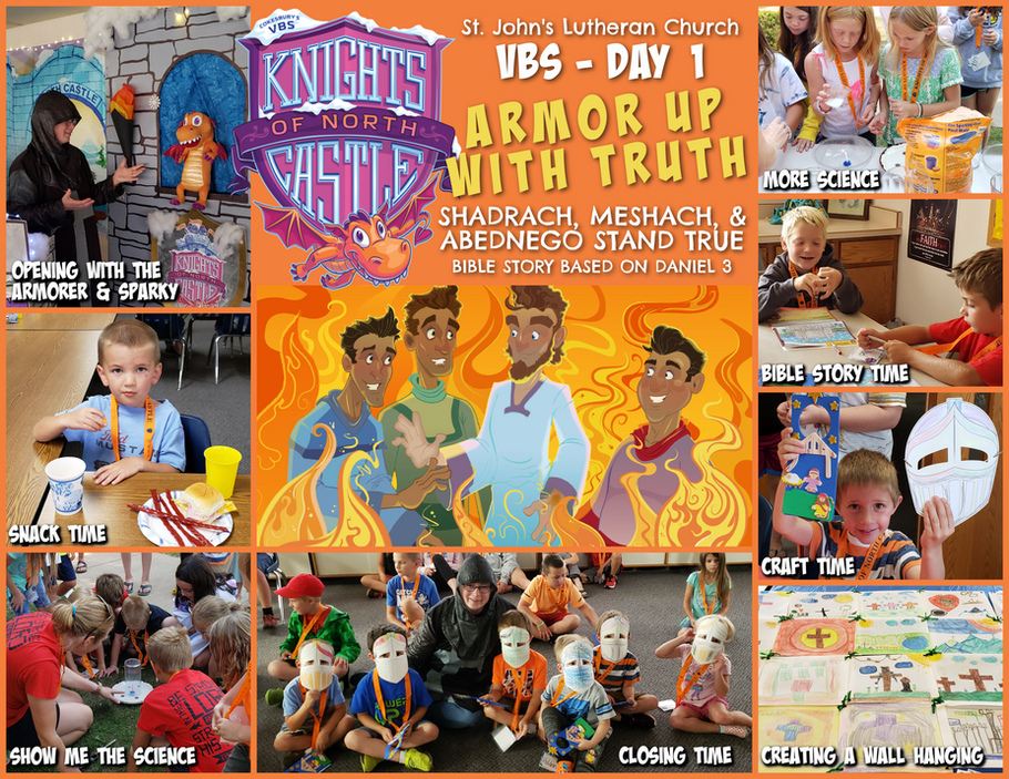 VBS 2021 Knights of the North Castle - Day 1