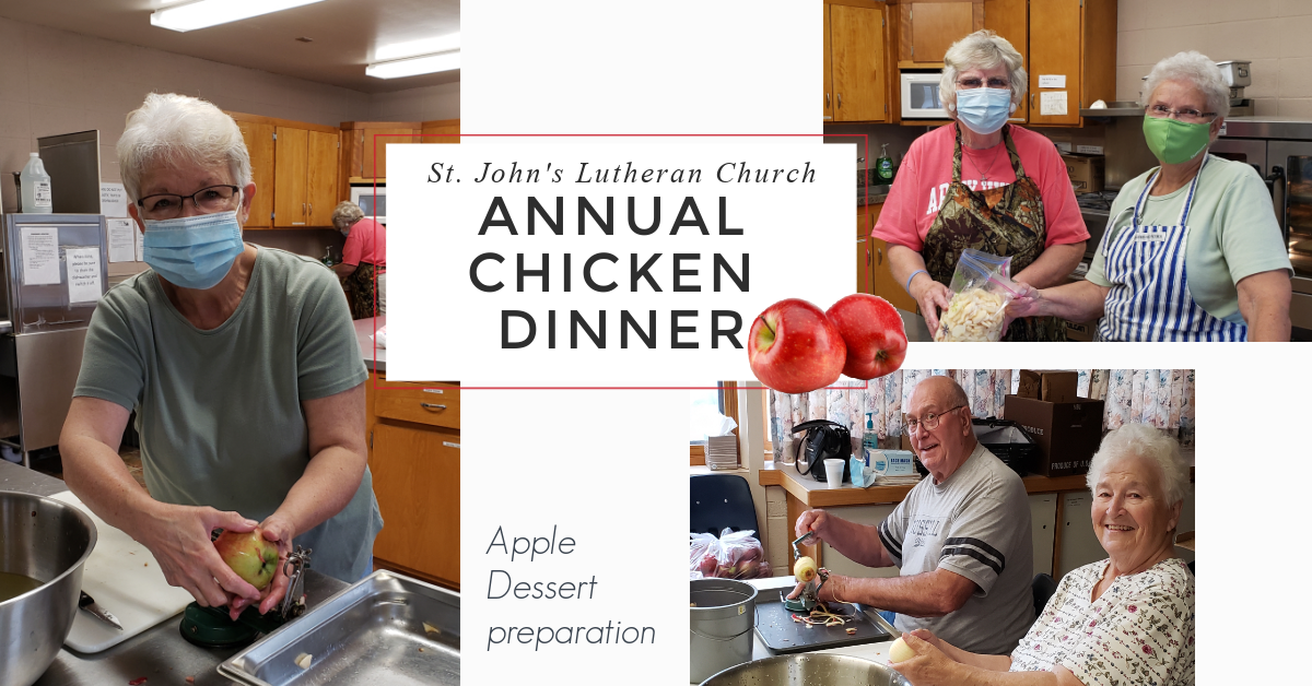 Annual Chicken Dinner - Apple Prep