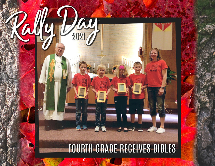Rally Day Bibles