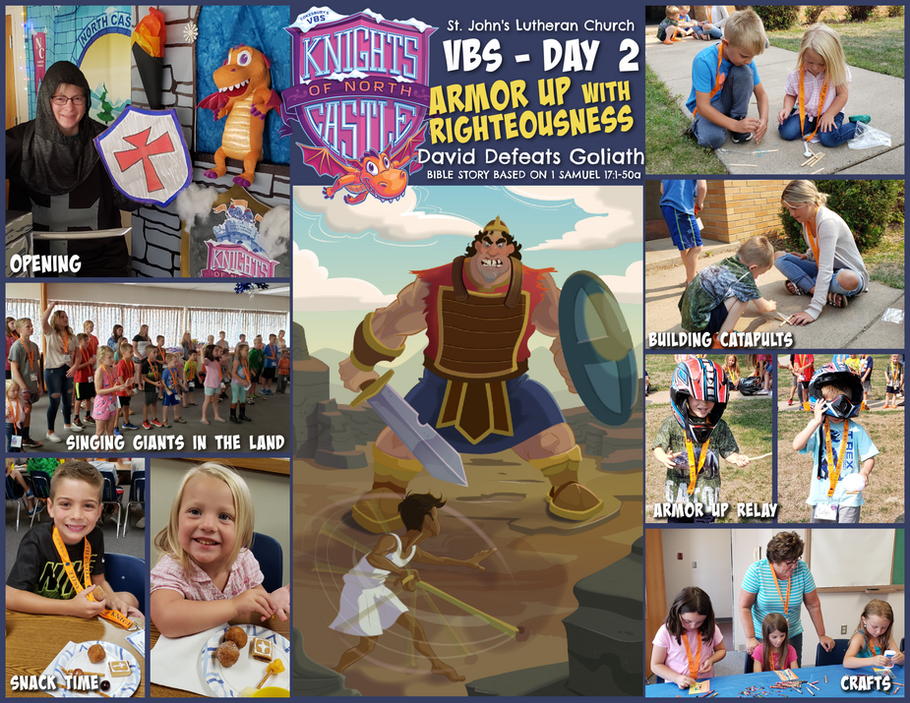 VBS 2021 Knights of the North Castle - Day 2