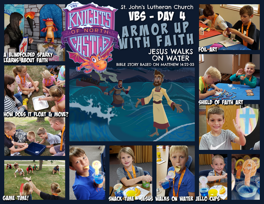 VBS 2021 Knights of the North Castle - Day 4