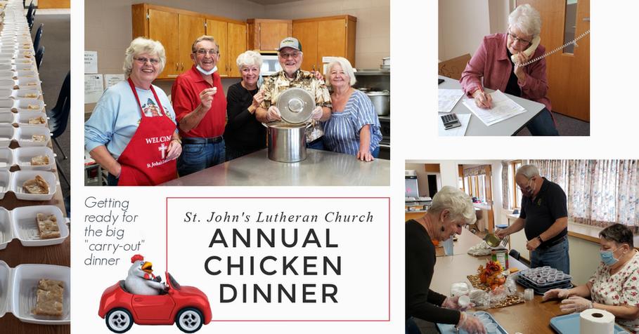 Annual Chicken Dinner - Meal Prep