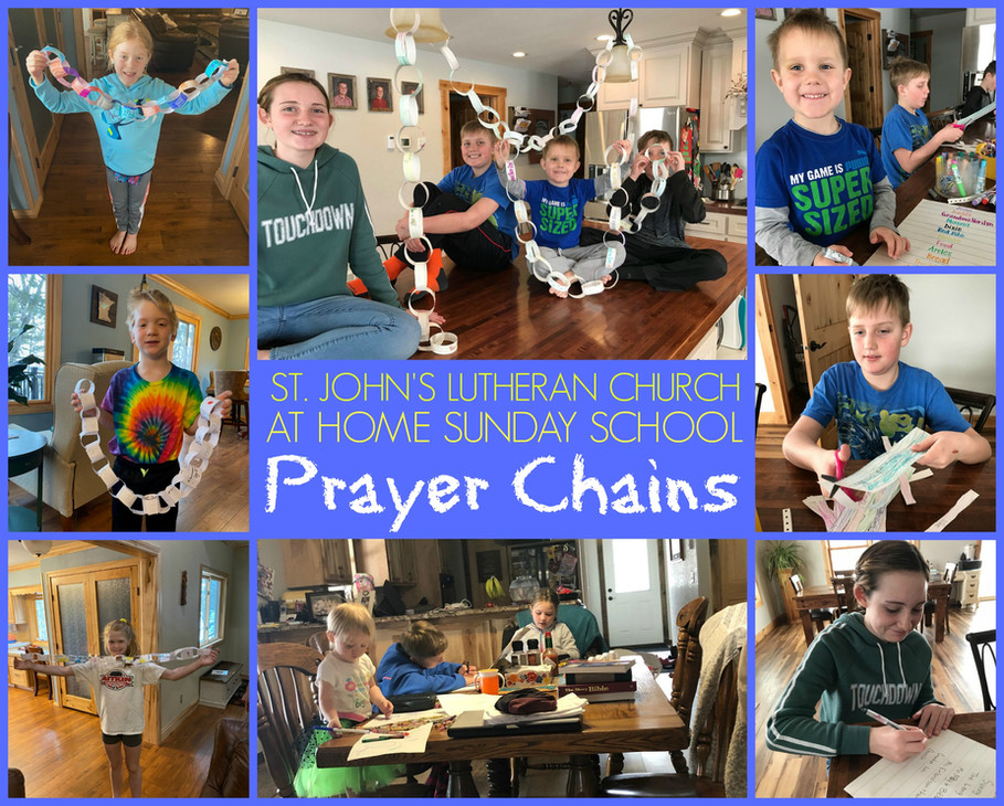 At Home Sunday School - March 22
