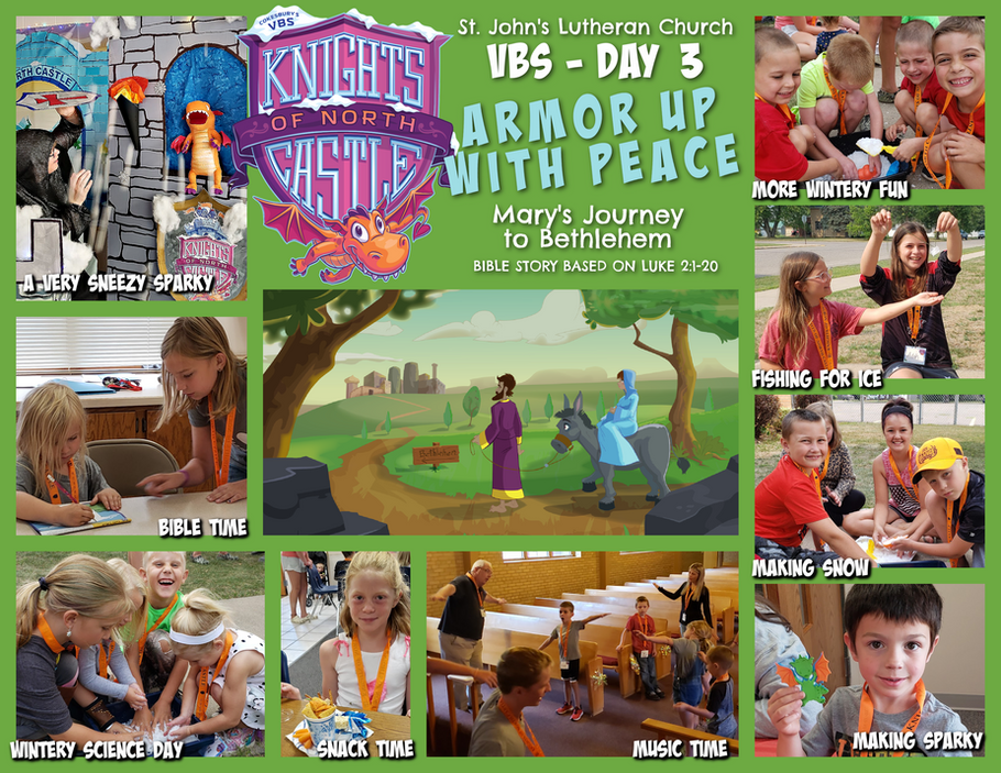 VBS 2021 Knights of the North Castle - Day 3