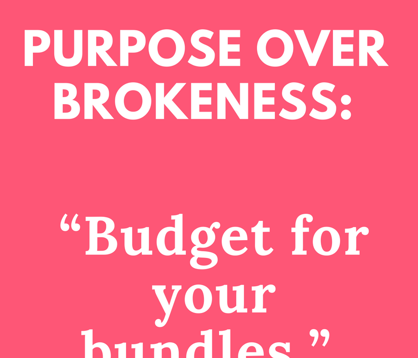Budget for Your Bundles