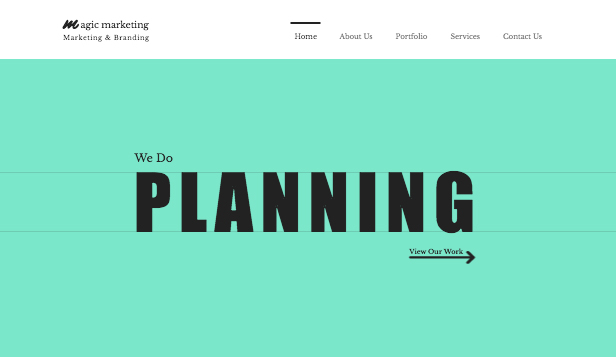 Consulting & Coaching website templates – Marketing Consultants