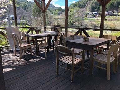 BBQスペースnのテーブル・イス