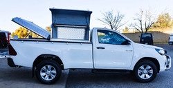 Toolbox canopy conversion