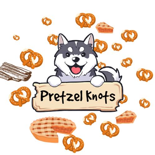 Pretzel Knots -  Cinnamon Sugar Pretzels + Pie Crust