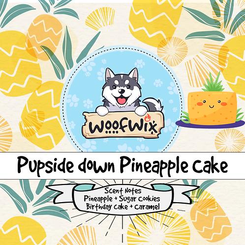 Pupside Down Pineapple Cake