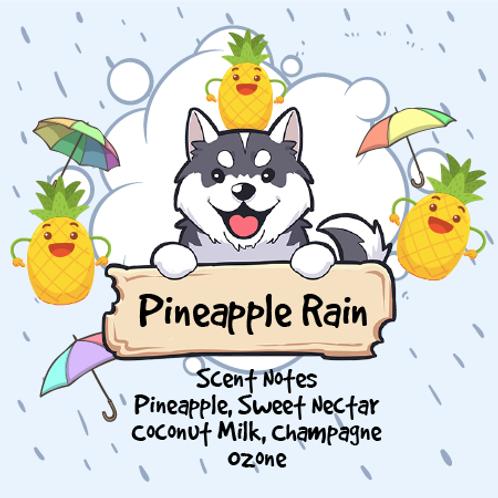 Pineapple Rain - Pineapple + Sweet Nectar + Coconut Milk + Champagne + Ozone + M