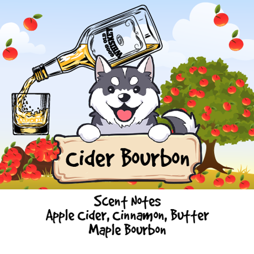 Cider Bourbon - Apple Cider + Cinnamon + Butter + Maple Bourbon