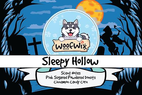 Sleepy Hollow-Pink Sugared Powdered Donuts + Cinnamon Candy Corn