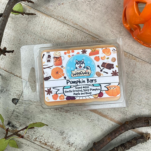 Pumpkin Bars - Vanilla Frosted Spicy Pumpkin, Maple, Honey