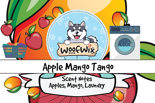 Apple Mango Tango - Fresh Sliced Apples & Mango + Floral Laundry
