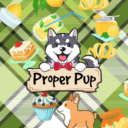 Proper Pup - Lemon Cookies + Tea Cakes + Blueberry + Marshmallow + Sugar Cookies