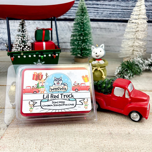 Lil Red Truck - Cinnamon Scented Pine Cones
