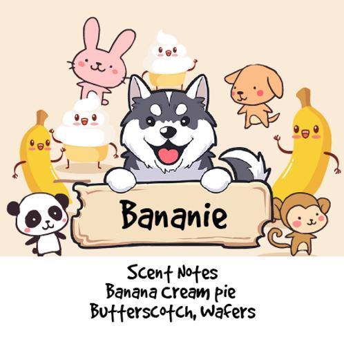Bananie - Banana Cream Pie + Butterscotch + Vanilla Wafers + Pie Crust