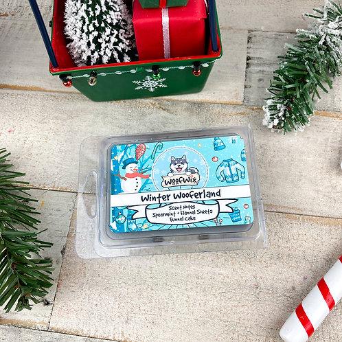Winter Wooferland - Spearmint + Flannel Sheets + Funnel Cake