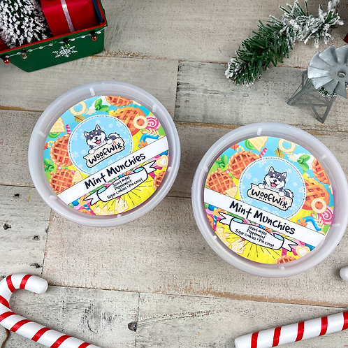 Mint Munchies - Peppermint + Sugar Cookies + Pie Crust