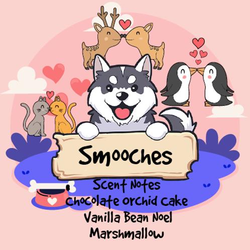 Smooches - Chocolate Orchid Cake + Vanilla Bean Noel + Marshmallow