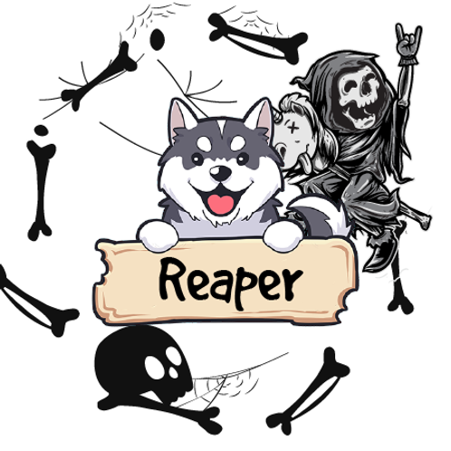 Reaper - Apples + White Chocolate + Campfire + Powdered Sugar