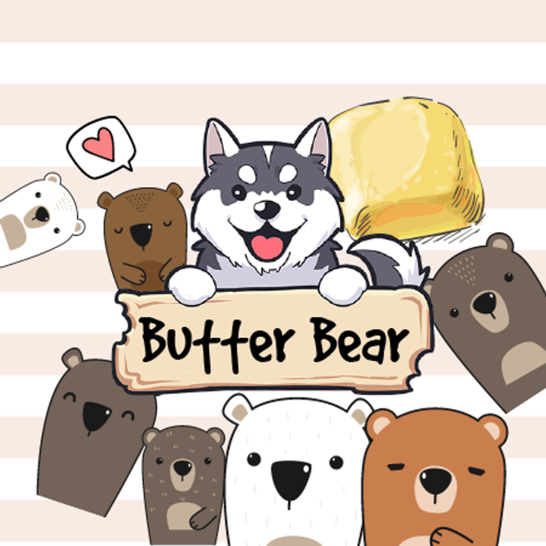 Butter Bear - Chestnuts + Brown Sugar + Cornbread Muffins