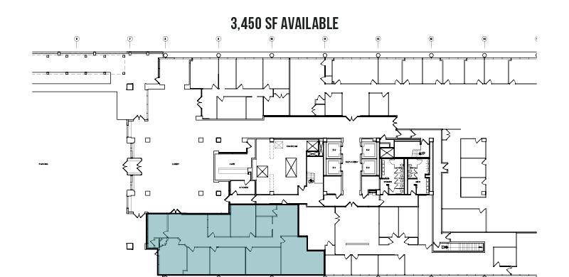 1st Floor - 3,450 SF