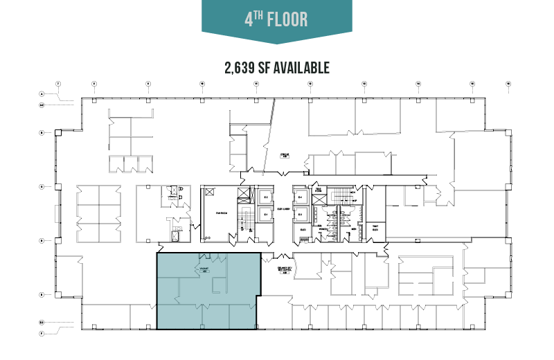 4th Floor - 2,639 SF