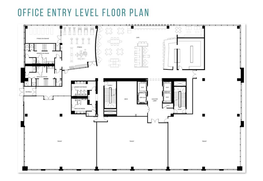 Office Entry Level Floor Plan