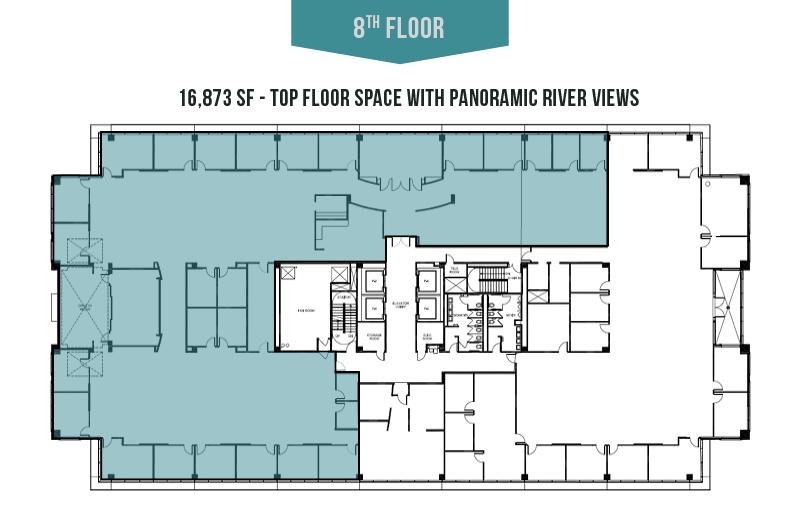 8th Floor - 16,873 SF