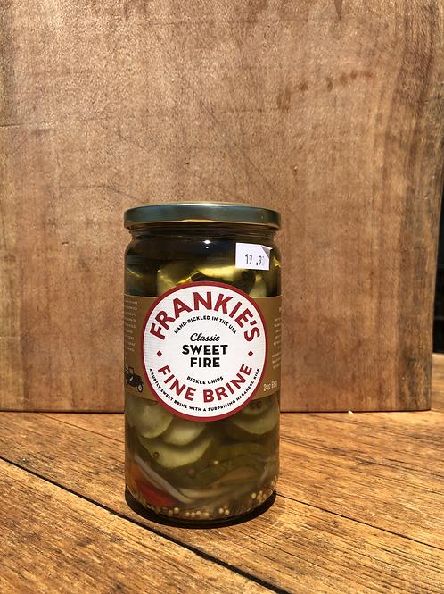 Frankies Classic Sweet Fire Pickle