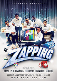 Spectacle danse hip hop, As2danse, zapping, original,de chamery a Paris, danse comedie,performence visuel,choregraphie,hip hop dance,art de rue,show,spectaclezapping,animation, Ludovic Lacroix,theme télévision,