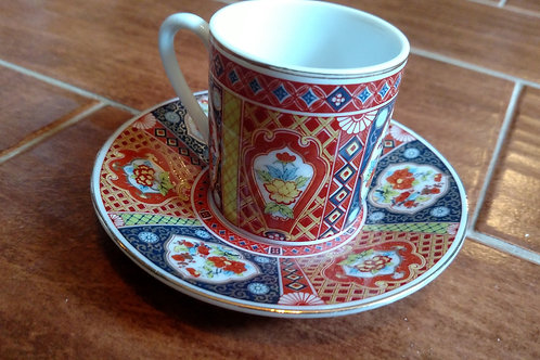 Mini Japanese Cup and Saucer