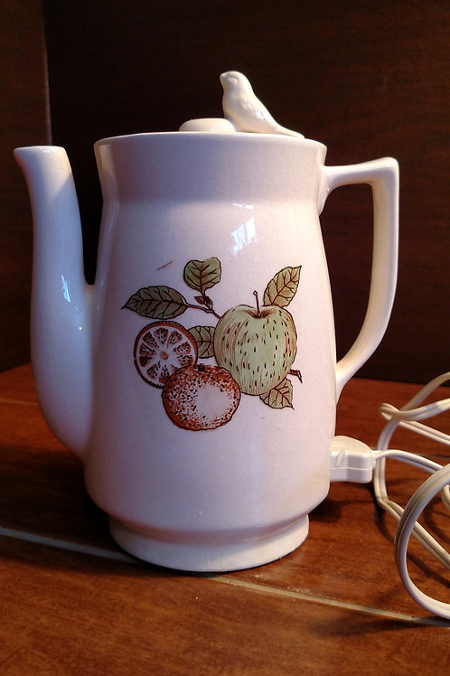 Vintage Plug In Coffee Pot