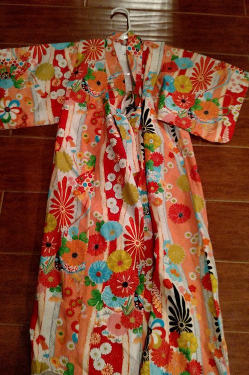 Vintage Small Japanese Kimono