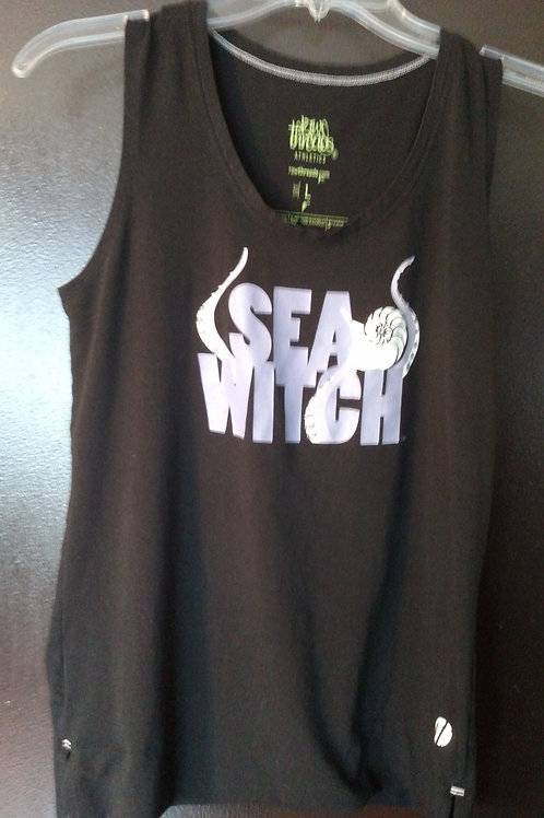 Nice Raw Threads Sea Witch Women's Tank Top Size L