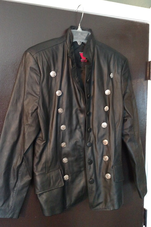 Virginia Slims Leather Jacket Size M