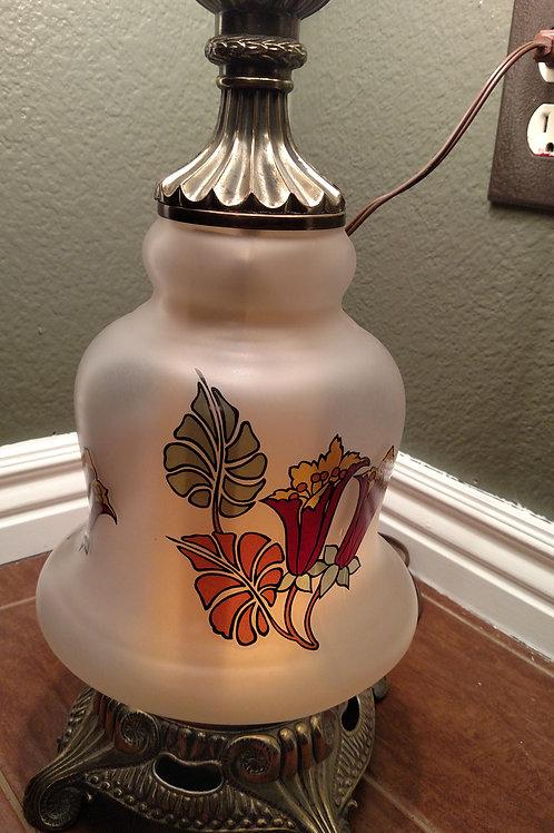 Vintage Duel Light Table Lamp