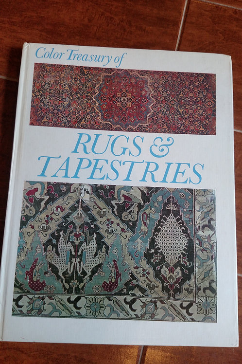 Color Treasury of Rugs & Tapestries Book