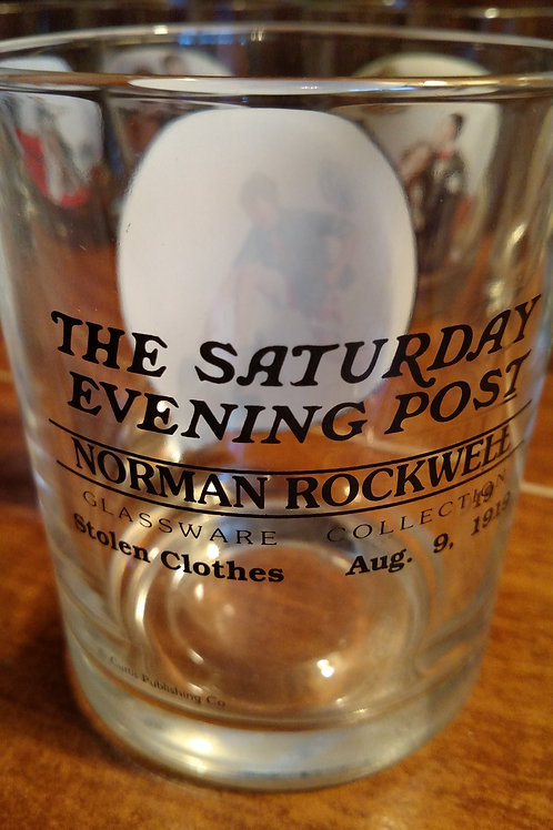 Norman Rockwall Glass Set