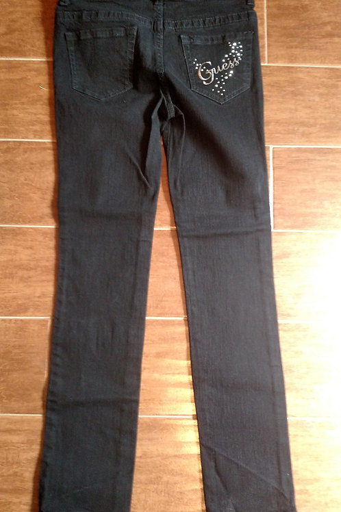 Nice Guess Girls Black Jeans Size 12