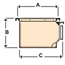 Carpeta Colgante.Visor Lateral.131.1_131
