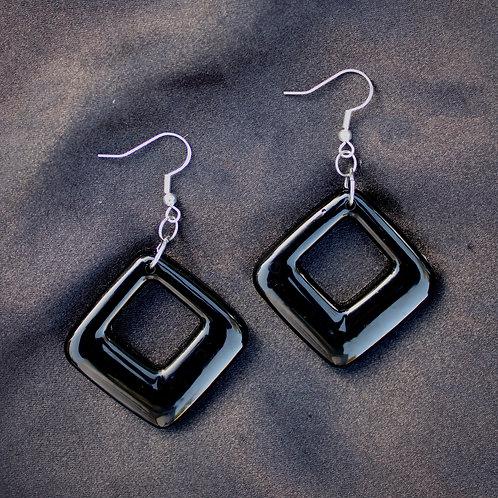 Black Resin Diamonds