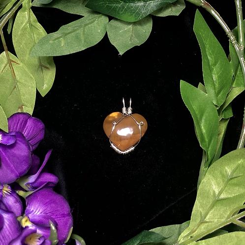 Jasper Heart Pendant